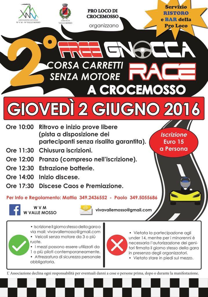 FreeGnocca Race 2016