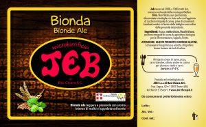 JEB Blonde Ale
